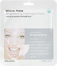 Voňavky, Parfémy, kozmetika Rozjasňujúca maska na tvár  - Beauugreen Microhole Clear Brightening Hydrogel Mask