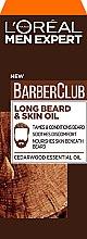 Voňavky, Parfémy, kozmetika Olej na starostlivosť o pleť tváre a brady - L'Oreal Paris Men Expert Barber Club Long Beard + Skin Oil