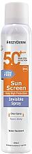 Voňavky, Parfémy, kozmetika Ochranný krém na tvár a telo - Frezyderm Sun Screen Invisible SPF50+ Spray