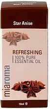 """Voňavky, Parfémy, kozmetika Éterický olej """"Badyán"""" - Holland & Barrett Miaroma Star Anise Pure Essential Oil"""