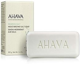 Voňavky, Parfémy, kozmetika Mydlo na báze soli z Mŕtveho mora - Ahava Moisturizing Salt Soap