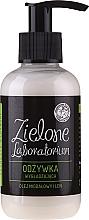 """Voňavky, Parfémy, kozmetika Kondicionér na vlasy vyhladzujúci """"Mandľový olej a ľan"""" - Zielone Laboratorium"""