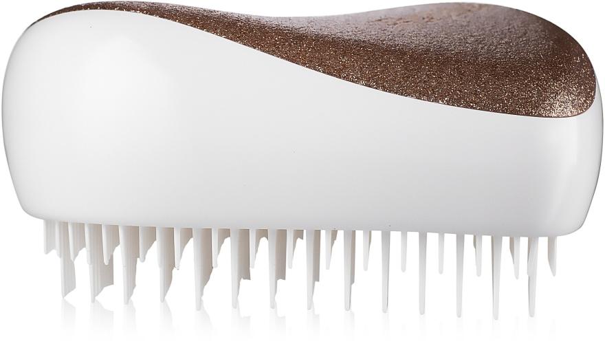 Kompaktná kefa na vlasy - Tangle Teezer Compact Styler Glitter Gold — Obrázky N4