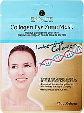 """Voňavky, Parfémy, kozmetika Maska proti starnutiu na pokožku okolo oči """"Intenzívny kolagén"""" - Skinlite Collagen Eye Zone Mask"""