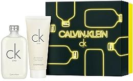 Voňavky, Parfémy, kozmetika Calvin Klein CK One - Sada (edt/200ml + b/lot/200ml)
