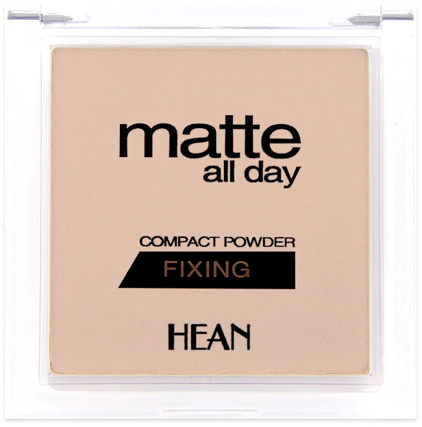 Púder na tvár - Hean Matte All Day Compact Powder
