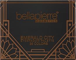 Voňavky, Parfémy, kozmetika Paleta očných tieňov  - Bellapierre Emerald City Eye Shadow Palette