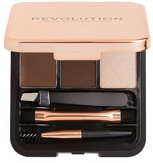 Sada na obočie - Makeup Revolution Brow Sculpt Kit