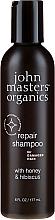"Voňavky, Parfémy, kozmetika Šampón na vlasy ""Med a ibištek"" - John Masters Organics Honey & Hibiscus Shampoo"