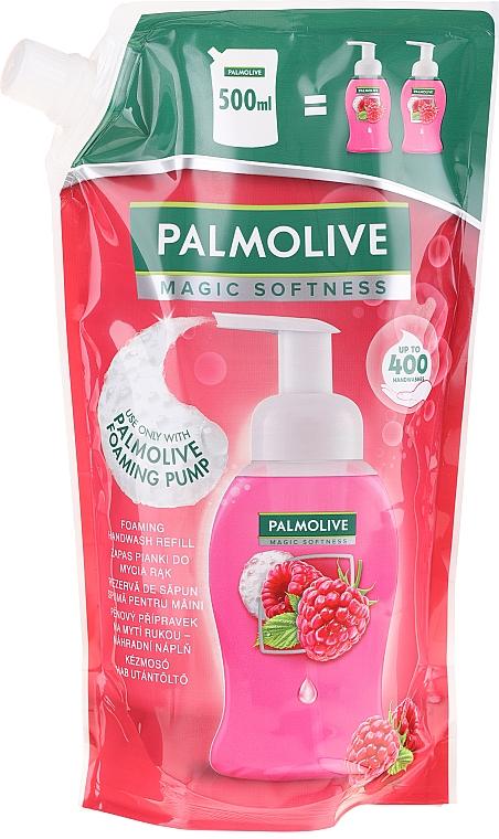 Tekuté mydlo - Palmolive Magic Softness Raspberry Foaming Handwash (doypack)