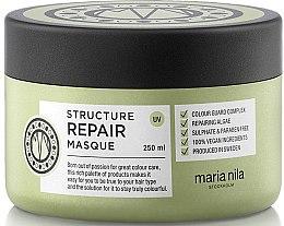 Voňavky, Parfémy, kozmetika Maska na suché a poškodené vlasy - Maria Nila Structure Repair Masque