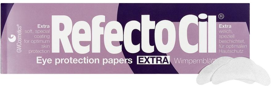 Papierové podložky pod mihalnice (80ks) - RefectoCil Eye Protection Papers Extra