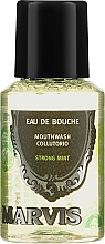 Voňavky, Parfémy, kozmetika Ústna voda - Marvis Concentrate Strong Mint Mouthwash (mini)