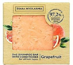 Voňavky, Parfémy, kozmetika Tuhý šampón a kondicionér Grapefruit - Stara Mydlarnia Grapefruit 2in1 Shampoo Bar