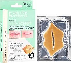 Voňavky, Parfémy, kozmetika Gélová maska na pery - Eveline Cosmetics Lip Therapy S.O.S. Expert Intensely Moisturising Lip Mask