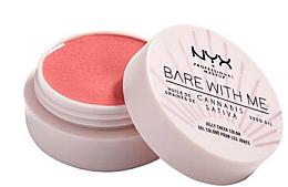 Voňavky, Parfémy, kozmetika Lícenka v tvare želé - NYX Professional Makeup Bare With Me Hemp Jelly Cheek