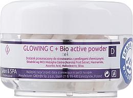 Voňavky, Parfémy, kozmetika Bioaktívny púder na bielenie tváre - Charmine Rose Glowing C+ Bio Active Powder
