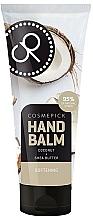 Voňavky, Parfémy, kozmetika Balzam na ruky s extraktom z kokosového oleja a bambuckého masla - Cosmepick Hand Balm Coco&Shea Butter