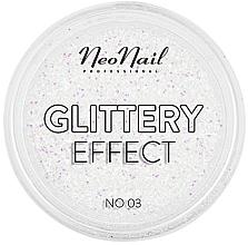 Voňavky, Parfémy, kozmetika Trblietavý púder na nechtový dizajn - NeoNail Professional Glittery Effect
