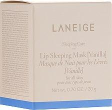 Voňavky, Parfémy, kozmetika Intenzívne obnovujúca nočná maska na pery Vanilka - Laneige Sleeping Care Lip Sleeping Mask Vanilla