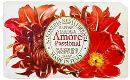 Voňavky, Parfémy, kozmetika Mydlo s exotickými vôňami vanilky, mandlí, pomarančov a tropického ovocia - Nesti Dante Amore Passional Nourishing Vegetable Soap