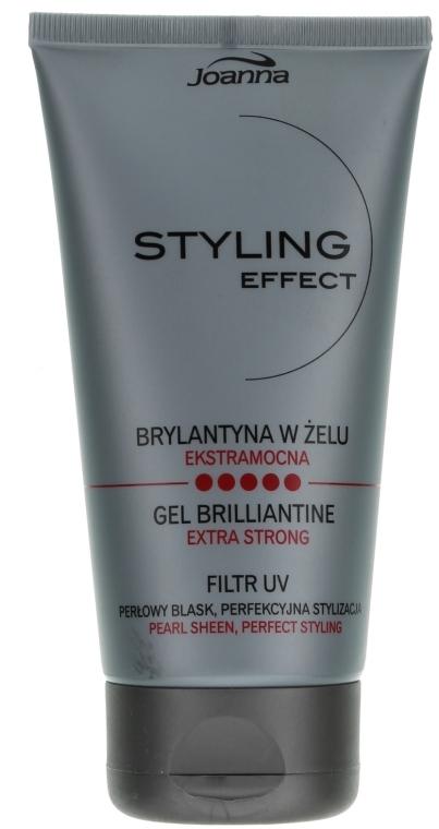 Brilliantine v géli na vlasy - Joanna Styling Effect Gel Brilliantine — Obrázky N1
