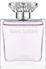 Voňavky, Parfémy, kozmetika Christopher Dark Blanc Brillant - Parfumovaná voda