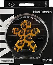 Voňavky, Parfémy, kozmetika Osviežovač vzduchu do auta - Mr&Mrs Niki Vanilla & Patchouly Brown Fantasy Animalier