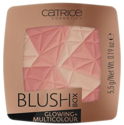 Lícenka na tvár - Catrice Blush Box Glowing + Multicolour
