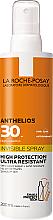 Voňavky, Parfémy, kozmetika Ultraľahký krém na tvár a telo s ochranou pred slnkom SPF30 + - La Roche-Posay Anthelios Invisible Spray