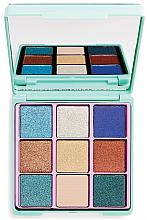 Voňavky, Parfémy, kozmetika paleta očných tienov na viečka - I Heart Revolution Glitter Palette