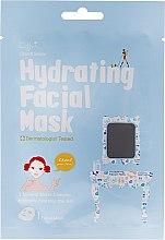 Voňavky, Parfémy, kozmetika Látková hydratačná maska na tvár - Cettua Hydrating Facial Mask