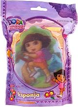 """Voňavky, Parfémy, kozmetika Detská hubka """"Dora"""", 169-11, ružová - Suavipiel Dora Bath Sponge"""