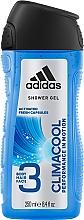 Voňavky, Parfémy, kozmetika Gél na vlasy, telo a tvár - Adidas Climacool 3in1 Shower Gel Body&Hair&Face