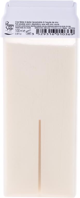 Kartuša s voskom pre teplú depiláciu - Peggy Sage Cartridge Of Fat-Soluble Warm Depilatory Wax Blanc