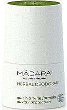 Voňavky, Parfémy, kozmetika Bylinkovo-minerálny dezodorant - Madara Cosmetics Herbal Deodorant
