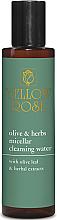 Voňavky, Parfémy, kozmetika Micelárna voda s rastlinnými extraktami - Yellow Rose Olive & Herbs Micellar Cleansing Water