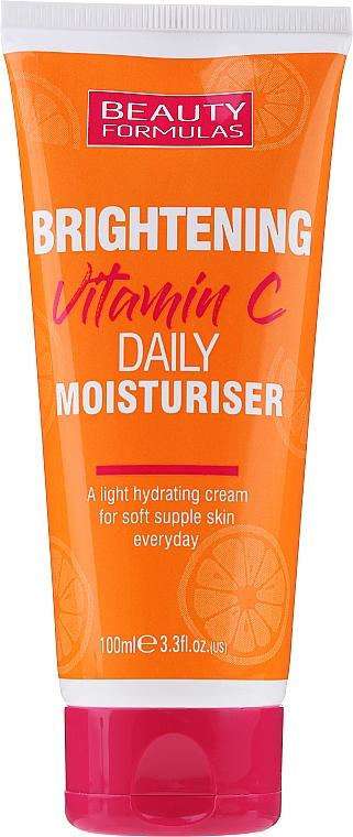 Denný hydratačný krém na tvár so žiarivým účinkom - Beauty Formulas Brightening Vitamin C Daily Moisturiser Cream