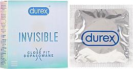 Voňavky, Parfémy, kozmetika Kondómy, 3ks. - Durex Invisible Close Fit