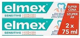 Voňavky, Parfémy, kozmetika Sada - Elmex Sensitive Toothpaste (toothpaste/2x75ml)