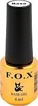 Voňavky, Parfémy, kozmetika UV Podkladový lak - F.O.X Base Strong Gel