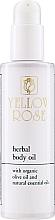 Voňavky, Parfémy, kozmetika Výživný olej na telo - Yellow Rose Herbal Body Oil