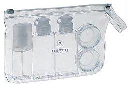 Voňavky, Parfémy, kozmetika Cestovná sada pre toaletné potreby z 5 nádob - Beter Air Kit