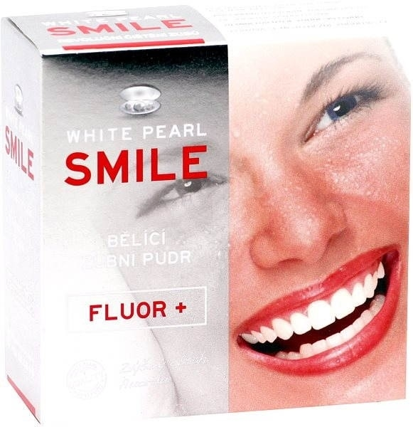 Bieliacy prášok pre zuby - VitalCare White Pearl Smile Tooth Whitening Powder Fluor+ — Obrázky N2