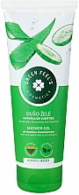 Voňavky, Parfémy, kozmetika Sprchový gél s extraktmi z aloe a uhoriek - Green Feel's Shower Gel With Aloe & Cucumber Extracts