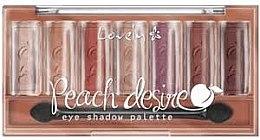 Voňavky, Parfémy, kozmetika Paleta očných tieňov - Lovely Peach Desire