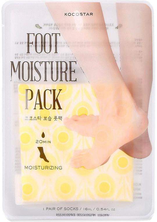Hydratačná maska na starostlivosť o nohy - Kocostar Foot Moisture Pack Yellow