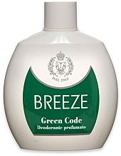 Voňavky, Parfémy, kozmetika Breeze Green Code Deo Squeeze - Parfumovaný dezodorant
