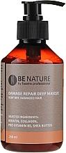 Voňavky, Parfémy, kozmetika Koncentrovaná maska na vlasy - Beetre Be Nature Damage Repair Deep Masque