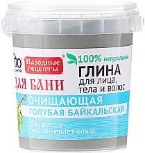 Voňavky, Parfémy, kozmetika Modrá bajkalská hlina na tvár, telo a vlasy, na kúpanie - Fito Kozmetic
